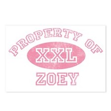 Property-of-Zoey Postcards (Package of 8)