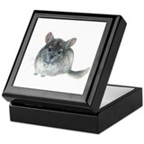 chinchilla Keepsake Box