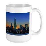 Chicago Framed In Sunset Mug