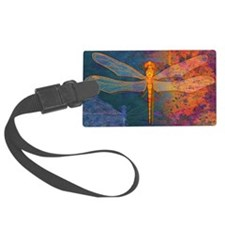 toiletryFlamingDragonfly Luggage Tag