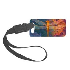 miniFlamingDragonfly Luggage Tag