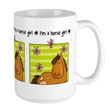horse girl Mug