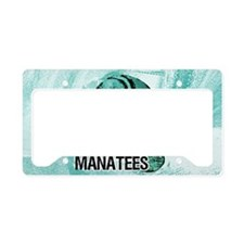shoulderManateeSave License Plate Holder