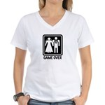 Funny Wedding Women's V-Neck T-Shirt