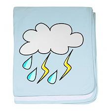 Storm Cloud baby blanket