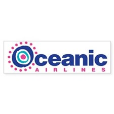 Oceanic Airlines Bumper Sticker