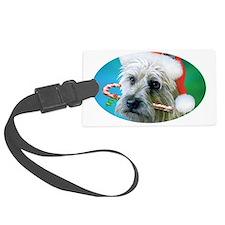 Cairn Terrier Santa-ceramic mug Luggage Tag