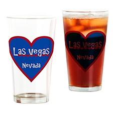 LasVegas_3x3_bear Drinking Glass