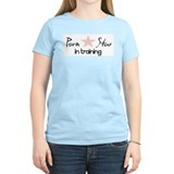 """Porn Star In Training"" Women's Color T-Shirt"