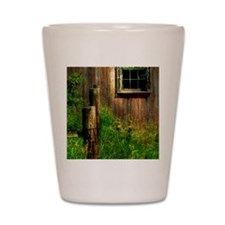 DOWN ON THE FARM UPDATED Shot Glass