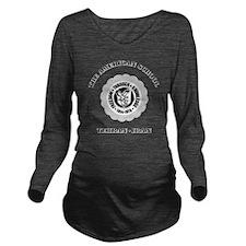 TASWhite Long Sleeve Maternity T-Shirt