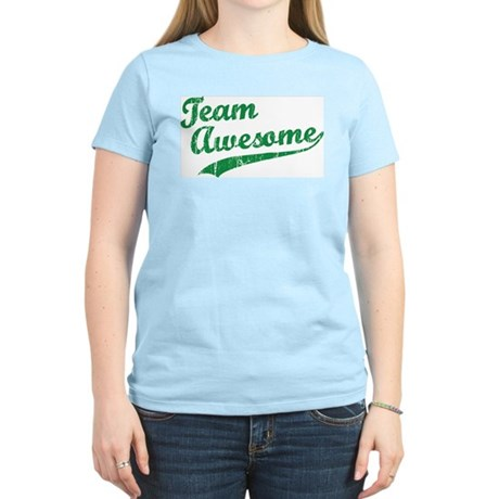 Team Awesome Women's Light T-Shirt