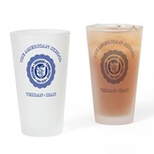 TAS1ltrBottleBlue Drinking Glass