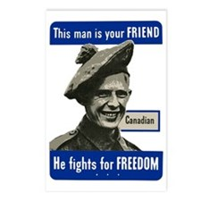 This Man Is Your Friend - Postcards (Package of 8)