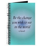 Be the change Journals