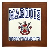MARQUIS University Framed Tile