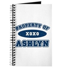 """Property of Ashlyn"" Journal"