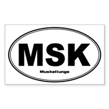 Muskie Sticker Decal