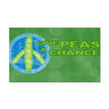 clutchPeas Rectangle Car Magnet