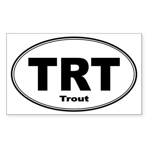 Trout Sticker Decal
