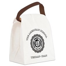 TASGolfShirtBlack Canvas Lunch Bag