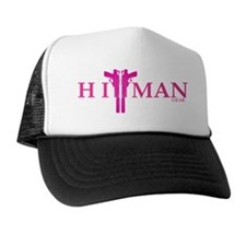 New HitMan Gear Logo pink Hat