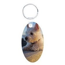 West Highland Terrier puppy Keychains
