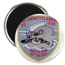 DD-830 USS EVERETT F LARSON Destroyer Ship  Magnet