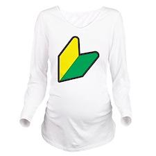 wabaka Long Sleeve Maternity T-Shirt