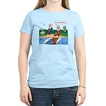 Fishing With Moses Women's Light T-Shirt