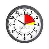 Altimeter Wall Clock (White)