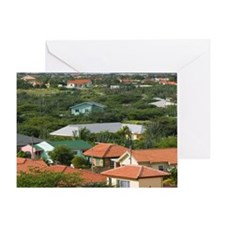 ABC Islands, ARUBA, Paradera: View f Greeting Card