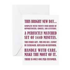THIS BRIGHT NEW DAY... Greeting Cards (Pk of 10)