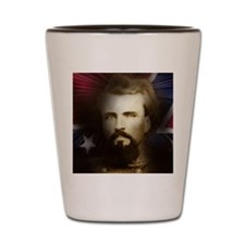 Nathan Bedford Forrest Shot Glass