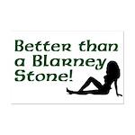 Better than a Blarney Stone Mini Poster Print