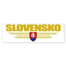 Slovakia (Flag 10) pocket Bumper Sticker