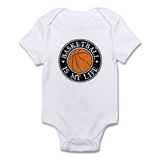 Basketball Is My Life Infant Bodysuit