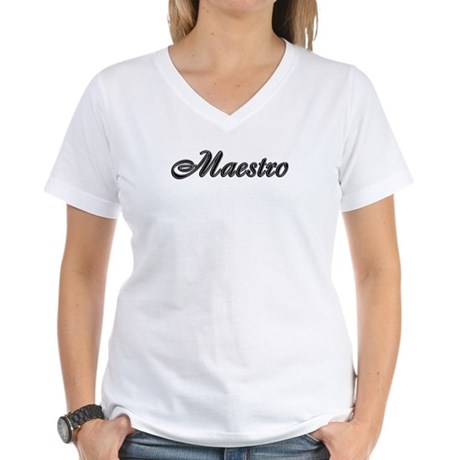 Maestro Women's V-Neck T-Shirt