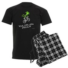 Ride like you stole it green w Pajamas