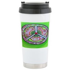 peace Joy, Hope, Love Ceramic Travel Mug