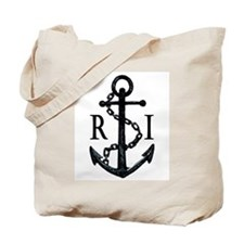 Rhode Island Anchor Tote Bag