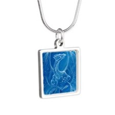 Excelsior Silver Square Necklace