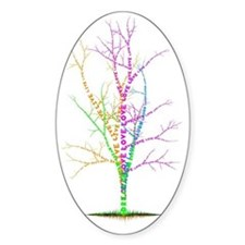 wordtreeLAUGH_2a Decal