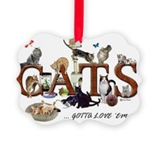 All cats mug Ornament