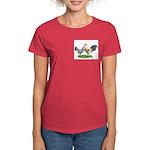 Blue Gold DW Pair Women's Dark T-Shirt
