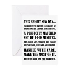 THIS BRIGHT NEW DAY... Greeting Card