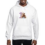 Teddy Bear 1 Hooded Sweatshirt