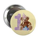 Teddy Bear 1 Button