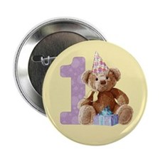 "Teddy Bear 1 2.25"" Button (100 pack)"