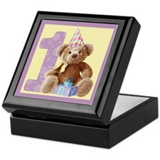 Teddy Bear 1 Keepsake Box